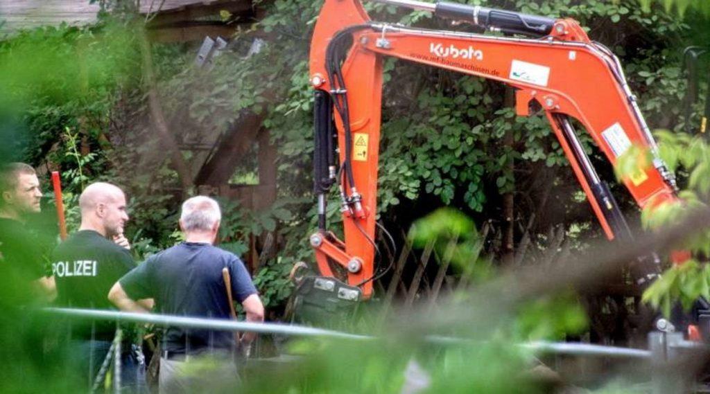 Case Maddie, appare una cantina nascosta nel giardino di Hannover