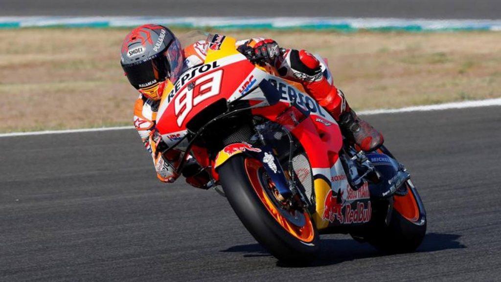 Jerez, Marquez cavalca contro il dolore al braccio