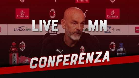 """LIVE MN - Pioli: """"Siamo tutti fortemente dalla parte di Milano. Crediamo ancora al quinto posto"""""""