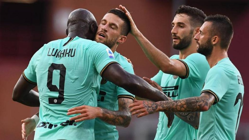 Serie A, super Lukaku, Inter ha battuto il Genoa 3-0