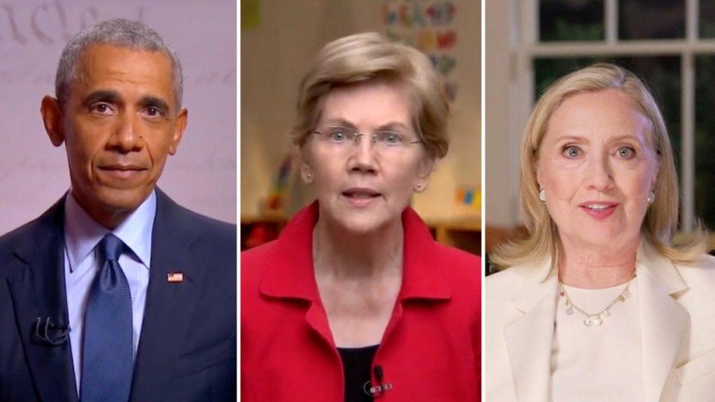 Convention, serata di Kamala Harris. I democratici schierano Barack Obama, Hillary Clinton ed Elizabeth Warren