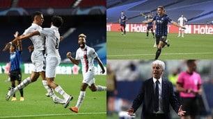 Atalanta sfiora l'impresa, clamorosa rimonta del PSG nel finale