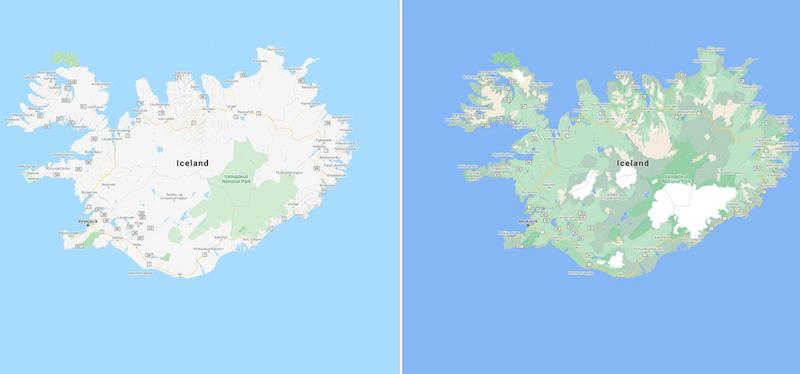 Google Maps cambierà un po '