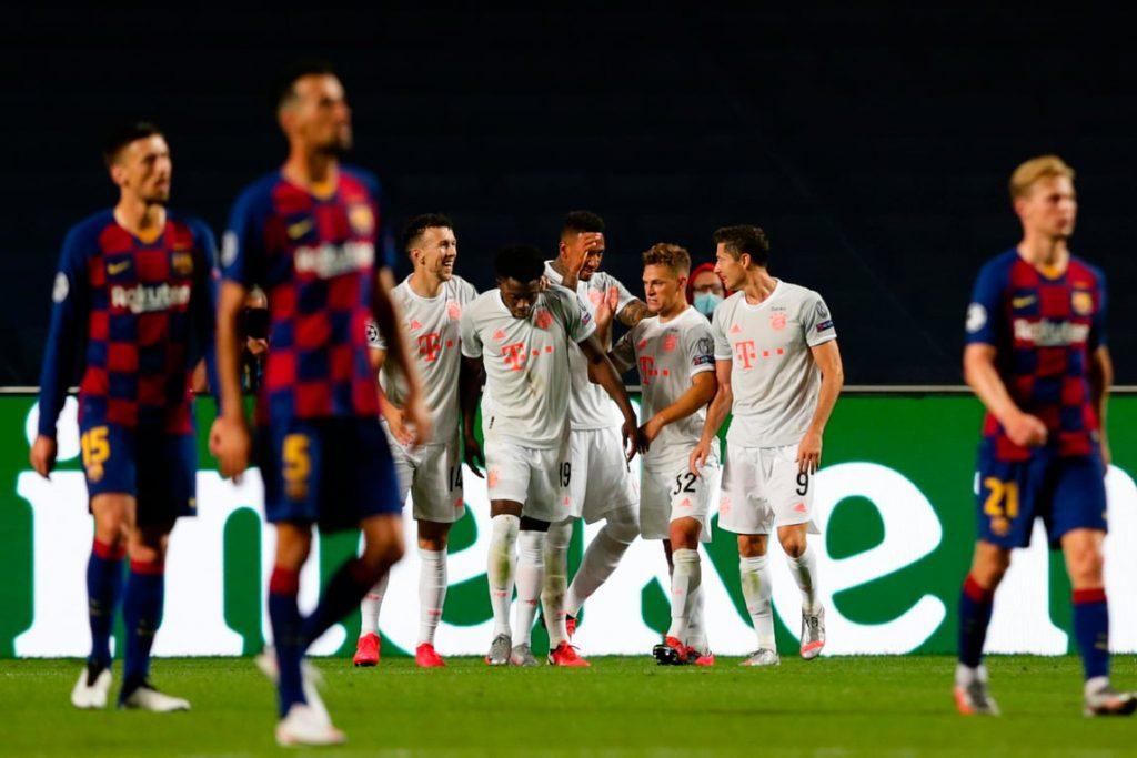 Il Bayern Monaco umilia il Barcellona e vola in semifinale: finisce 8-2