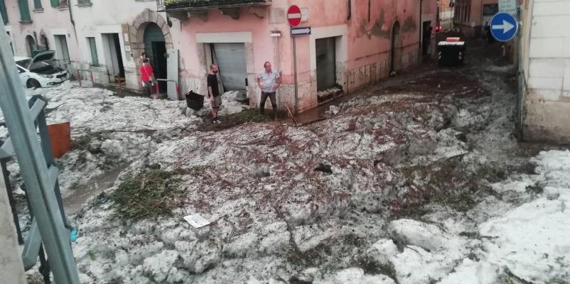 Video e foto delle alluvioni in Veneto